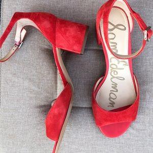 Sam Edelman Block Strappy Heels